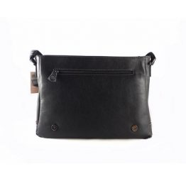 Cartera messenger portadocumentos Matties Bags color negro