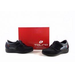 Zapatos Tolino confort con cierre de velcro y plantilla extraible 17303