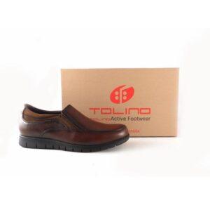 Zapatos Tolino para hombre serie Eureka 70214 en color cuero