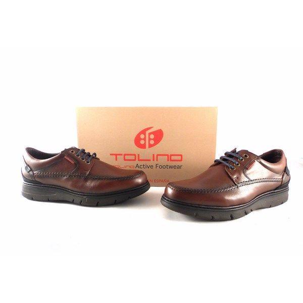 Marrón Zapatos Para Cordones Hombre De Tolino Color 70326 4LjS3Rqc5A