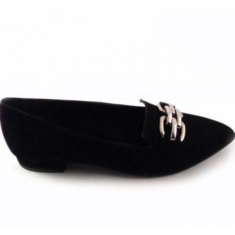 Zapatos planos Gabriela 1637 color negro