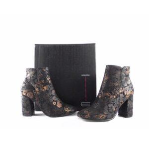 Botines para mujer Fashion E.Ferri ZHI0754 estampado floral