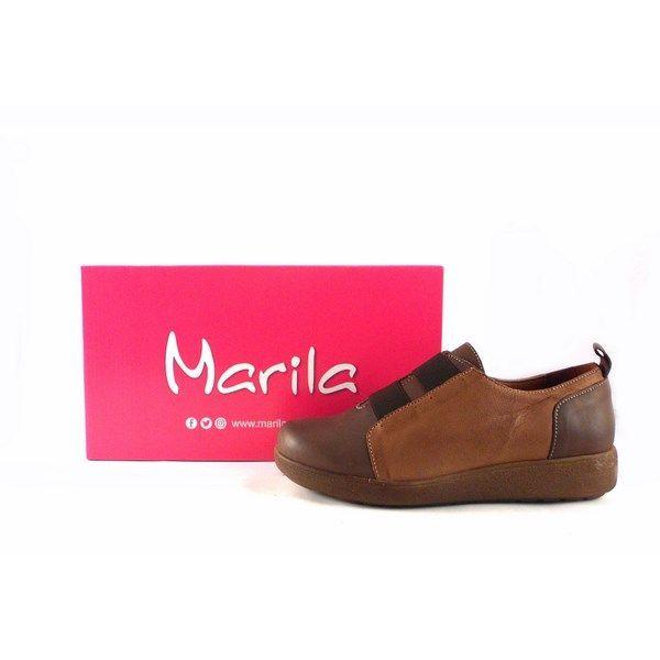 Zapatps confort Marila Shoes N638N combinados