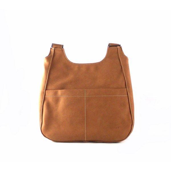 Mochila para mujer Matties Bags serie Atenas 8982 color cuero y café