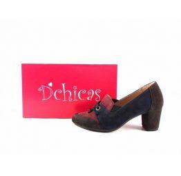 Zapatos de tacón D'Chicas 2630 combinados