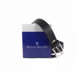 Cinturón Miguel Bellido 49035 grabado sin pespuntes