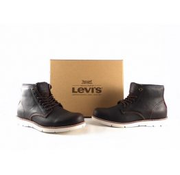 Botines Levi's Jack Clean High 37458 color marrón