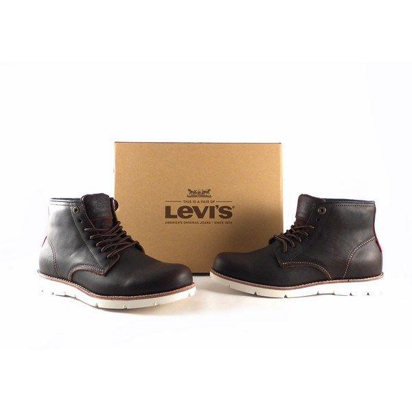 Botines Levi's Jack Clean High 37458 color marrón