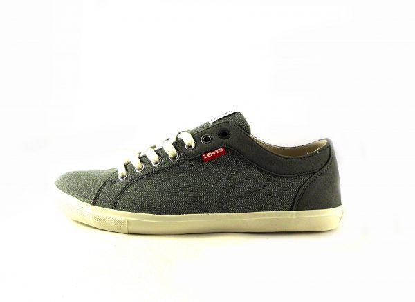 Zapatillas para hombre Levi's Woods color gris