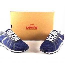 Zapatillas para hombre Levi's Almayer Lite color azul