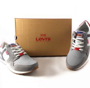 Zapatillas para hombre Levi's NY Runner 2.0 color gris