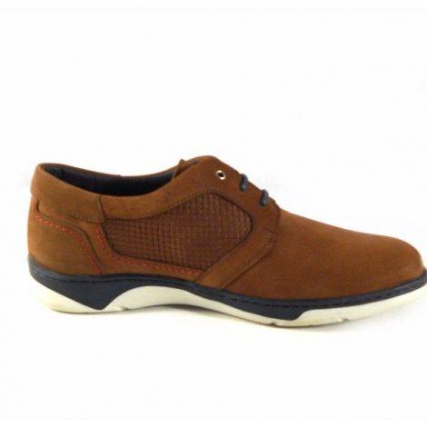 Zapatos para hombre Tolino modelo Ronald color cuero con marino