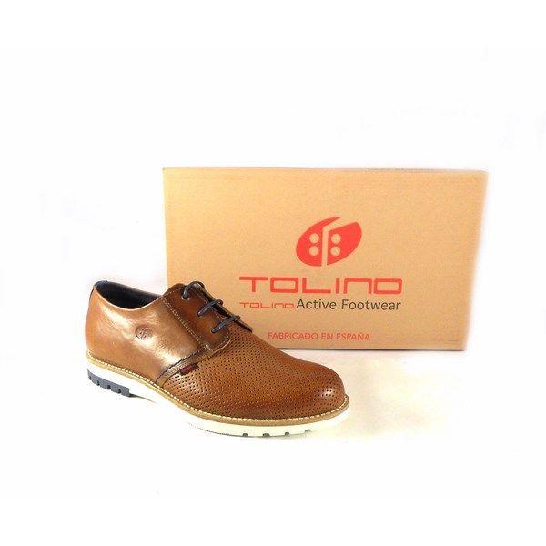 Para Tolino Color Cuero Cordones Hombre Con Oxford Zapatos wyNPOv80mn