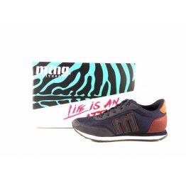 Zapatillas sneakers hombre Mustang Funner azul marino 82600