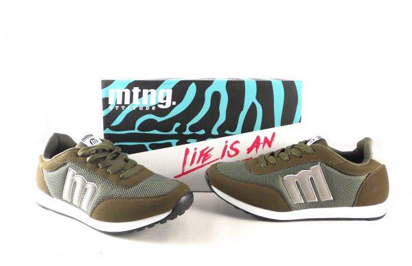 Deportivas hombre Mustang Jogging color verde 84100