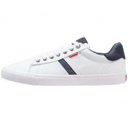 Zapatillas para hombre Levi's Skinner color blanco