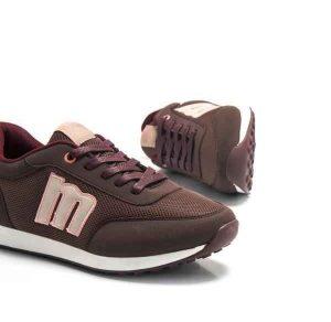 Zapatillas para mujer Mustang Jogging 69194 burdeos