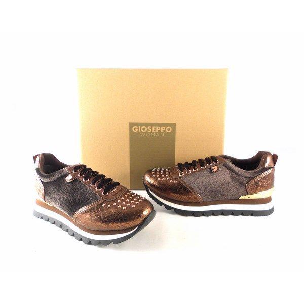 c04d8616 Sneakers Gioseppo cobre con diferentes texturas 46521