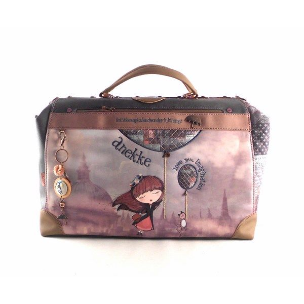 c2ade38c2 Bolsa de viaje tipo Mary Poppins Anekke imagination