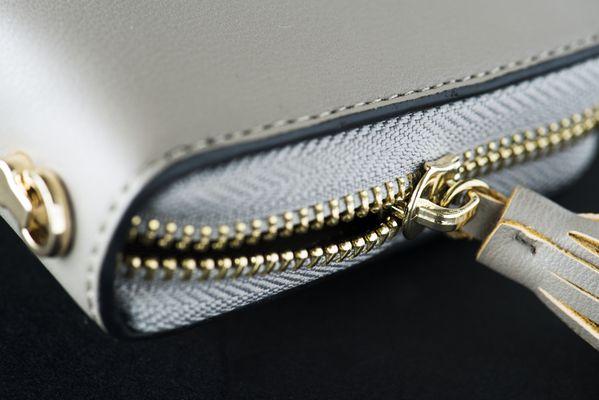 Carteras y billeteras de piel para mujer