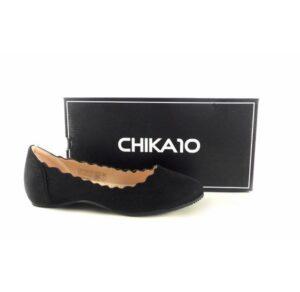Bailarinas Chika10 Catalina 02 color negro