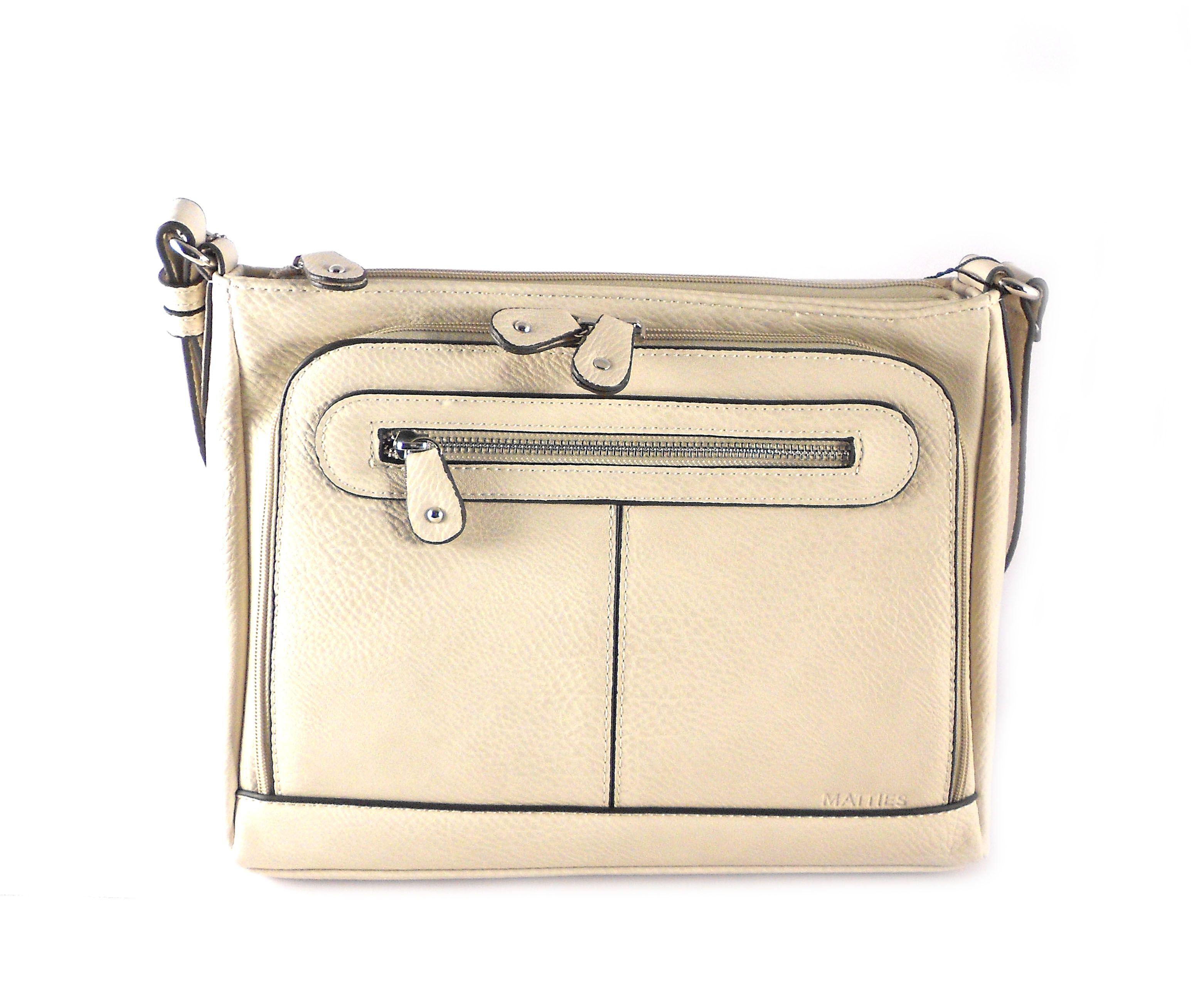 57139a071e2 Bandolera mediana para mujer Matties Bags serie Classic
