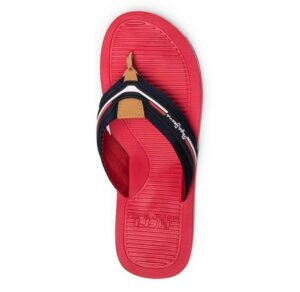 Chanclas para hombre Pepe Jeans Beach basic color rojo