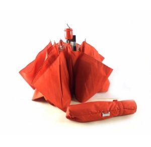 Paraguas plegable colección Vogue color rojo y azul