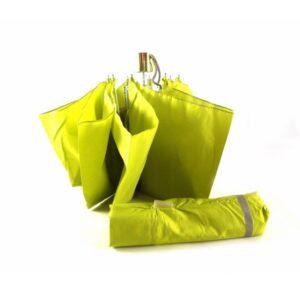 Paraguas plegable colección Vogue color verde y azul