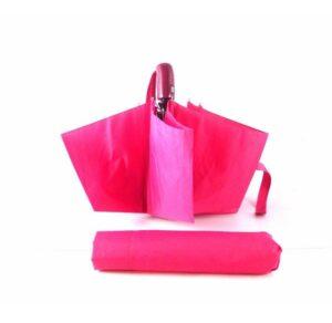 Paraguas colección Vogue con apertura y cierre automática color rosa