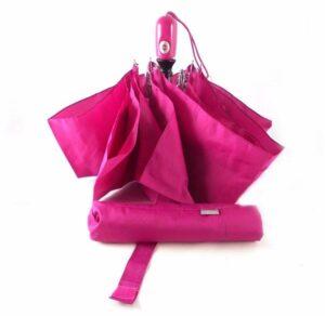 Paraguas colección Vogue con apertura y cierre automático color rosa