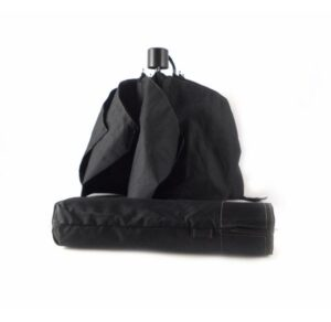 Paraguas Bisetti color negro con apertura y cierre manual