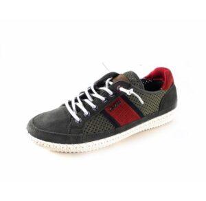 Zapatillas casual hombre YUMAS modelo Lisboa KAKI 42023