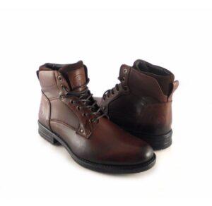 Botas hombre piel con cordones Innova Shoes color marrón