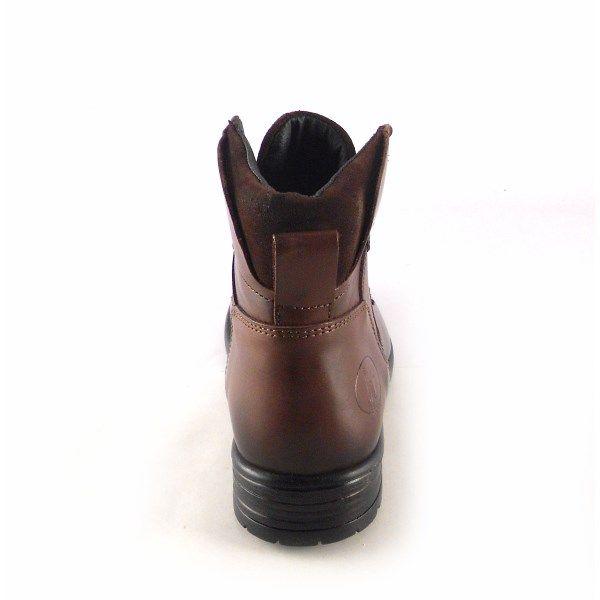 comprar popular ac7dd a5ca9 Botas hombre piel con cordones Innova Shoes color marrón