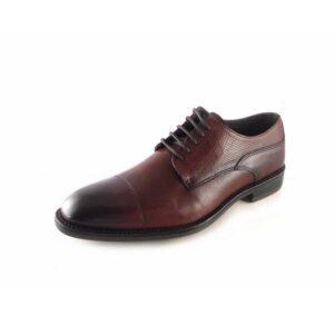 Zapatos vestir hombre en piel con cordones Innova Shoes color marrón
