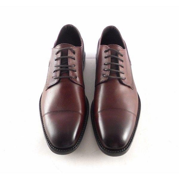 comprar popular 7265f edaf9 Zapatos vestir hombre en piel con cordones Innova Shoes color marrón