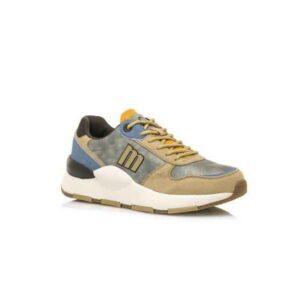 Deportivas sneakers para mujer MUSTANG Maxi beige