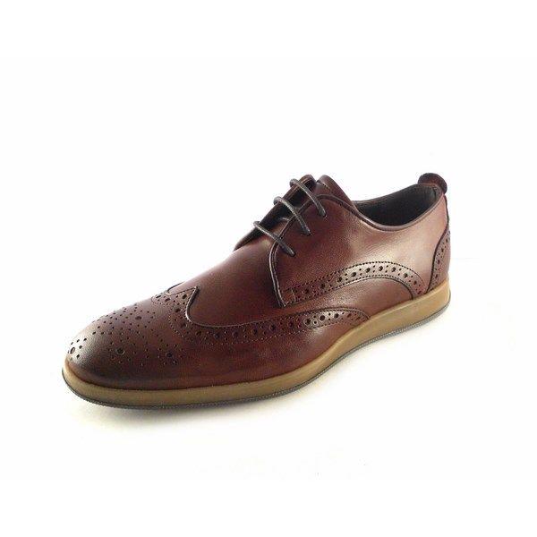 presentación atarse en venta caliente online Zapatos hombre vestir tipo Oxford con picado Innova Shoes color marrón