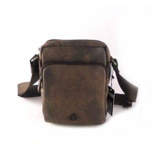 Bolso bandolera hombre MATTIES BAGS con solapa color marrón