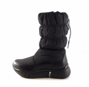 Botas mujer D'Angela 16431 estilo ski negro ajustable