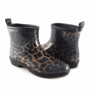 Botines de agua mujer leopardo D'Angela Lina 16282 interior pelo