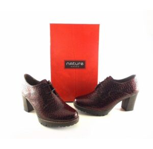 Zapatos Abotinados Con Tacón O Cuña Con Cordones Y Plantillas Extraibles