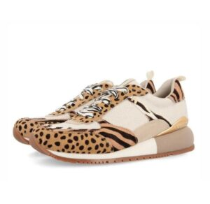 Sneakers mujer GIOSEPPO Bellflower con mix de prints 58634