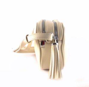 Bandolera mujer sencilla doble compartimento Torrens Bags beige o negro