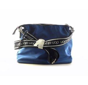 Bandolera DON ALGODON nylon marino bolsillos exteriores