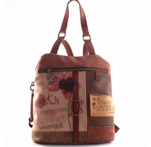 Mochila – bolso Kimmidoll estampado floral print