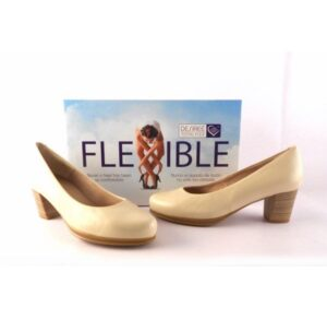 Zapatos Stilettos DESIREÉ SHOES Total Flex Half 1 Diana beige