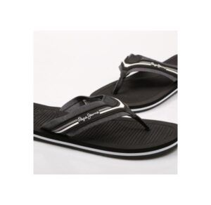 Chanclas para hombre PEPE JEANS Off Beach Chambray color negro