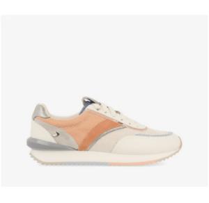 GIOSEPPO Sneakers blancas con detalles pastel para mujer Arvada